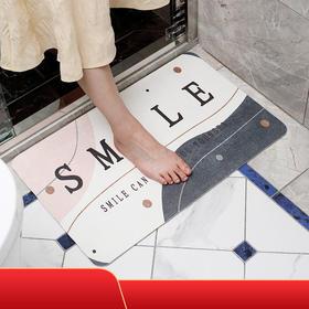 硅藻泥软地垫   更快吸水、脚底干爽不湿滑