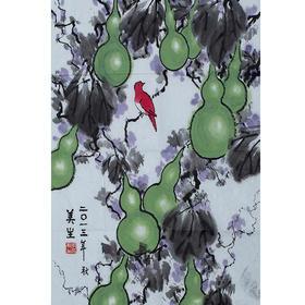胡美生·葫芦小鸟(68*45)