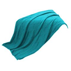 橄榄枝健康定制tiffany蓝法兰绒毛毯(奖品勿拍)