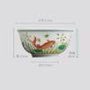 长物居 成化款 手绘斗彩瓷器小杯品茗杯功夫茶杯 商品缩略图2