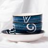 【为思礼】「日式手绘瓷器餐具」16件套日式和风千叶草手绘餐具套装 盘子/碗 商品缩略图2