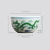 长物居 成化款 手绘斗彩瓷器小杯品茗杯功夫茶杯 商品缩略图4