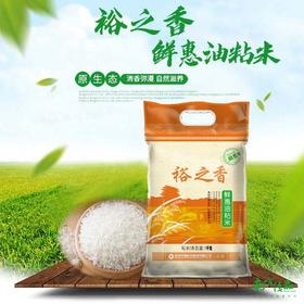 【珠三角包邮】裕之香 鲜惠油粘米 5kg/ 袋(次日到货)