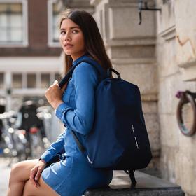 荷兰蒙马特 XDDESIGN城市安全轻行背包电脑包防盗包双肩书包