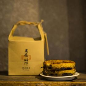 【月亮的饼▪徽派酥月】黑心肚 蜡黄脸 柴炉烘烤 传统工艺 儿时的味道