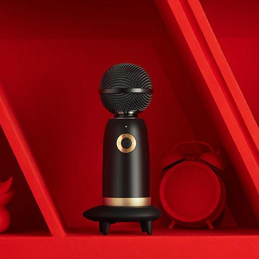 【为思礼】唱吧小巨蛋麦克风G2风向往的生活同款 精灵麦克风Q3无线蓝牙话筒音响 无线K歌话筒音响一体麦克风 商品图9