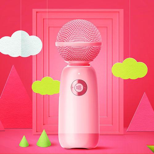 【为思礼】唱吧小巨蛋麦克风G2风向往的生活同款 精灵麦克风Q3无线蓝牙话筒音响 无线K歌话筒音响一体麦克风 商品图5