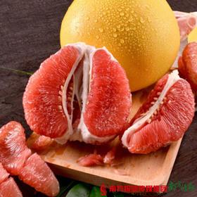 【珠三角包邮】梅州三红蜜柚礼盒2个装  1.8-2.5斤/个(次日到货)