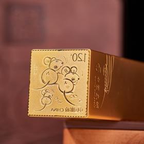 《庚子年》邮票金银印玺套装 | 中国金币、中国集邮重磅联袂,收藏、增值、可传家