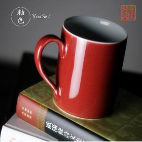 长物居 长窑制器霁红马克杯暖心水杯
