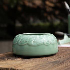 青瓷海纹水洗
