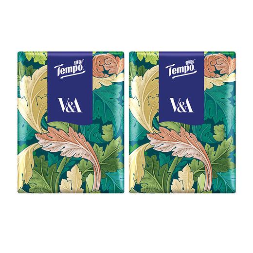 Tempo得宝V&A博物馆联名绿野骑士款手帕纸4层24小包 纸巾小包便携装餐巾纸 商品图3