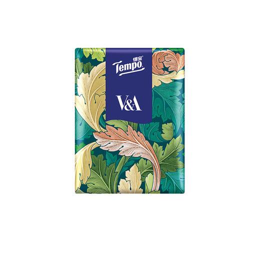 Tempo得宝V&A博物馆联名绿野骑士款手帕纸4层24小包 纸巾小包便携装餐巾纸 商品图4