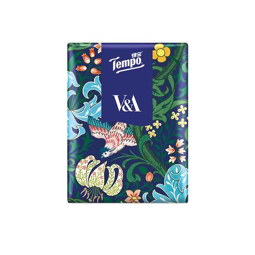 Tempo得宝V&A博物馆联名莉莉小姐款手帕纸4层24包 纸巾小包便携装手帕纸 商品图3