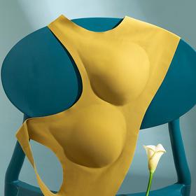纯色光面睡眠乳胶内衣女舒适无钢圈轻薄透气柔软内杯全罩杯文胸罩