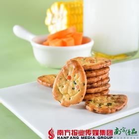 【全国包邮】佬食仁 9蔬小饼干 350g/箱 (72小时内发货)