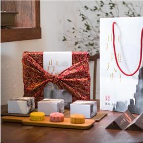 南周文创 中秋温暖巨献--「山月随人归」中秋月饼礼盒