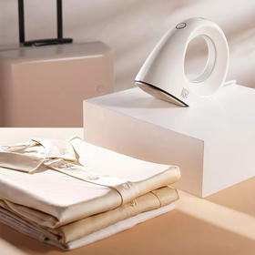 Sure•小蜗牛手持挂烫机 | 水箱自消毒,熨衣更干净,一熨去皱