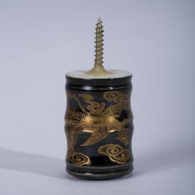 瓷轴头·凤