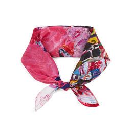 【钛空舱甄选 设计是原创】方巾款 100%真丝围巾 多款式可选 送妈妈 百搭 防晒 礼盒款
