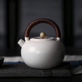 雅市苏打釉玉容壶