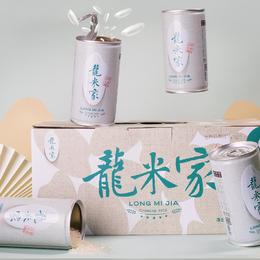 【储值1500赠2箱龙米家】龙米家五常大米稻花香(280gx8罐)