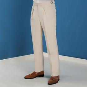 高端类定制/廓尔格款高级卡其裤