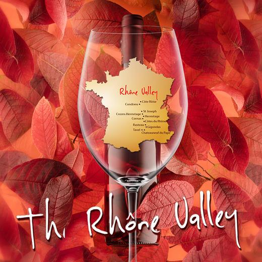 【门票】秋日慢时光,探索罗纳河谷品鉴会【Ticket】Rhône Valley Exploration 商品图0