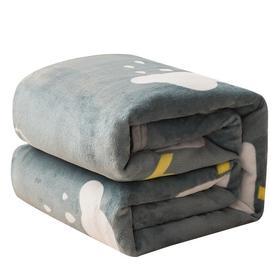 艺雅轩冰貂绒印花毯1.5m