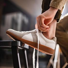 男鞋2020新款低帮休闲鞋男潮流百搭运动鞋子德式复古训练潮鞋