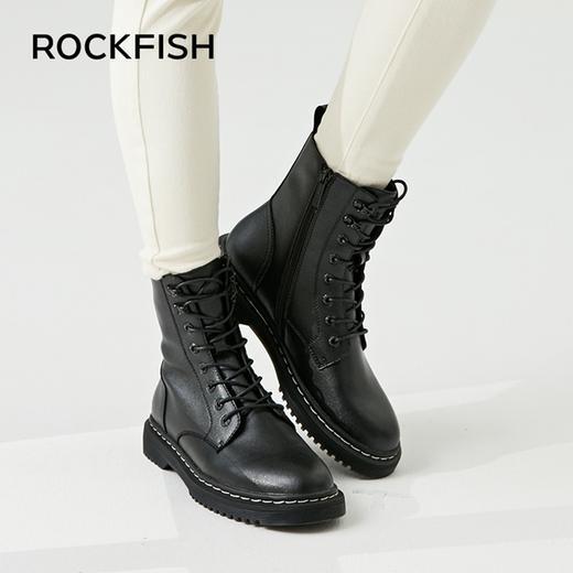 英国 Rockfish 皮质马丁靴!防水防污,细腻触感,第4代超细纤维,3D Active foam™ 高科技鞋垫! 商品图4