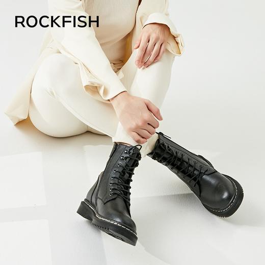 英国 Rockfish 皮质马丁靴!防水防污,细腻触感,第4代超细纤维,3D Active foam™ 高科技鞋垫! 商品图6