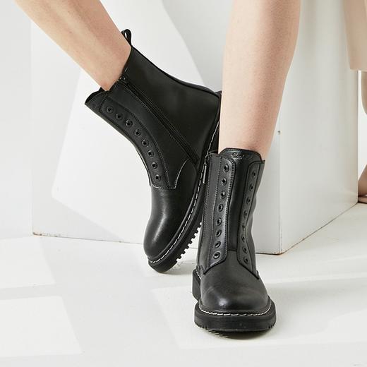 英国 Rockfish 皮质马丁靴!防水防污,细腻触感,第4代超细纤维,3D Active foam™ 高科技鞋垫! 商品图1