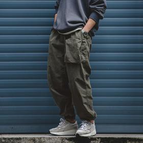 【军事潮流】超轻军事风工装裤