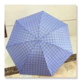 天堂伞经典格子伞款式随机