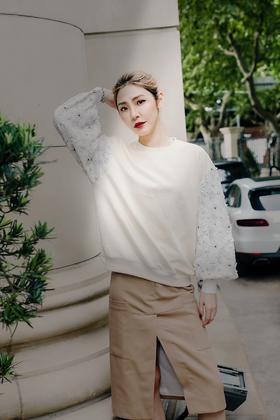 MAISON COVET  自有品牌高腰半裙