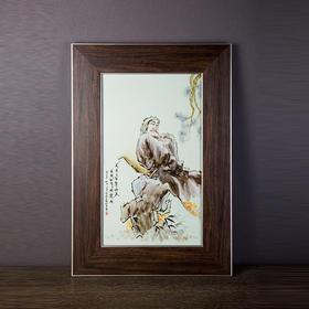 宋任生赏菊图