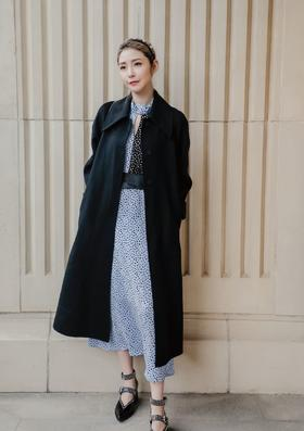 MAISON COVET  自有品牌 Claudia 全山羊绒大衣
