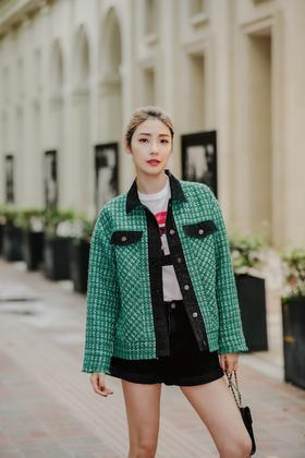 MAISON  COVET  自有品牌  绿色外套