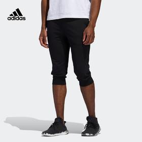【特价】Adidas阿迪达斯 M PNT 34 DK 3S 男款运动型格七分裤