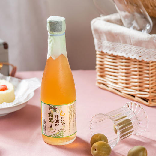 [太田葡萄梅酒]带有葡萄酒香气的酸甜梅酒  300ml/瓶 商品图3