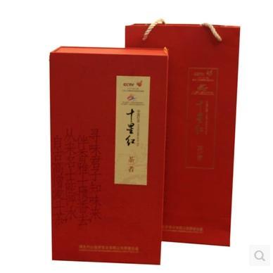 【竹山特产】十星红茶者功夫红茶一级礼盒装 商品图2