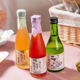 [太田葡萄梅酒]带有葡萄酒香气的酸甜梅酒  300ml/瓶