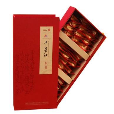 【竹山特产】十星红茶者功夫红茶一级礼盒装 商品图1