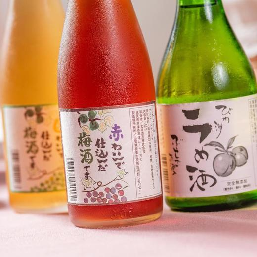 [太田葡萄梅酒]带有葡萄酒香气的酸甜梅酒  300ml/瓶 商品图1