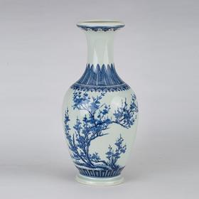 罗老三观音瓶(梅花)