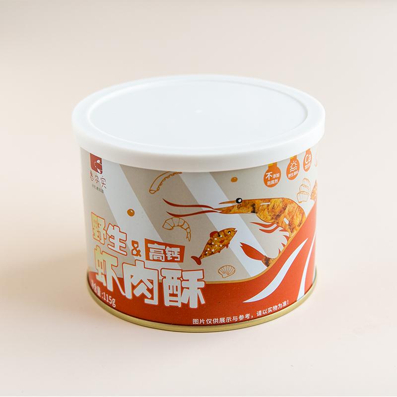 【五斤鱼虾一斤酥】惠尔实匠心产品 皇家御用辅食专家 深海野生鱼虾酥 商品图8