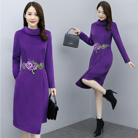 CQ-OKYZ6860秋季新款优雅气连衣裙TZF