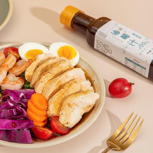 【新晋品牌农道好物】日式油醋汁 低脂低能量 0脂肪 可拌一切 268g/瓶 商品图2