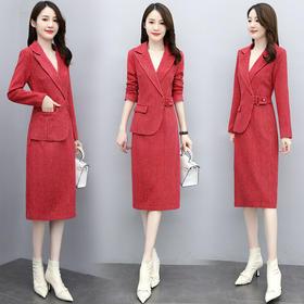 HRFS-WO68629新款优雅修身显瘦时尚条纹连衣裙TZF